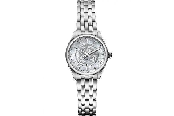 Large image of Hamilton Jazzmaster Lady Auto Womens Watch - H42215111