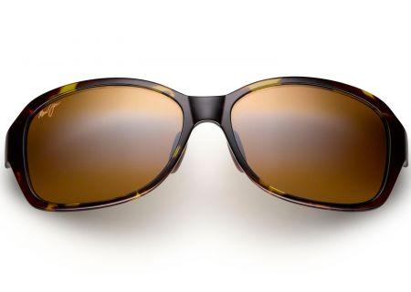 Maui Jim Koki Beach Olive Tortoise Womens Sunglasses - H433-15T