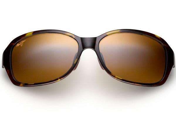 Large image of Maui Jim Koki Beach Olive Tortoise Womens Sunglasses - H433-15T