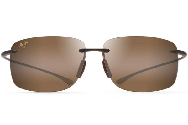 Large image of Maui Jim Hema Matte Rootbeer Unisex Sunglasses - H443-26M