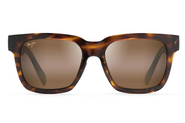 Large image of Maui Jim Mongoose Tortoise Polarized Classic Sunglasses - H540-10