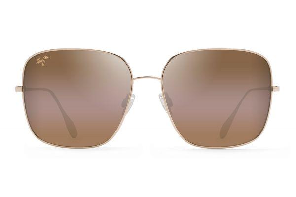 Large image of Maui Jim Triton Gold Polarized Womens Sunglasses - H546-16