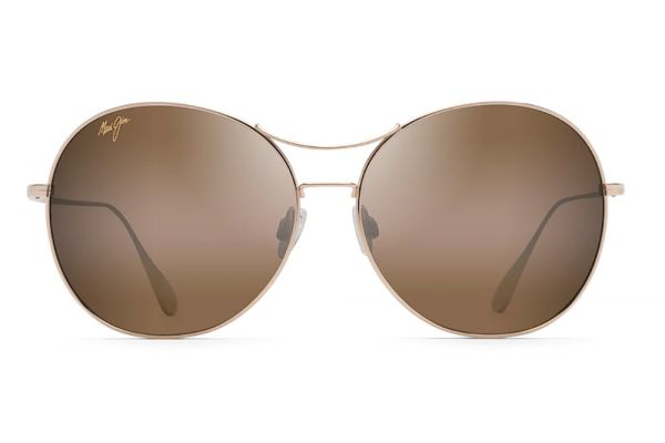 Large image of Maui Jim 'Opihi Gold Polarized Womens Sunglasses - H547-16