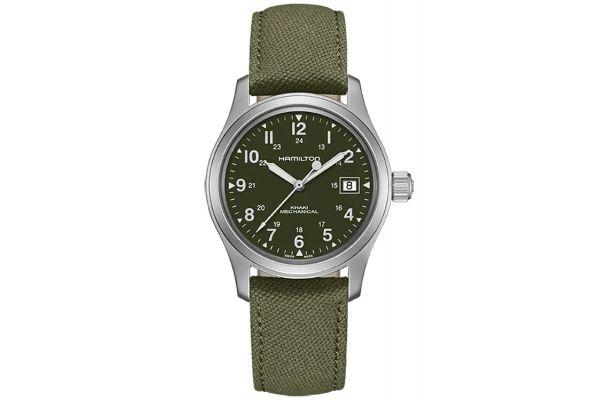 Large image of Hamilton Khaki Field Mechanical Mens Watch - H69439363