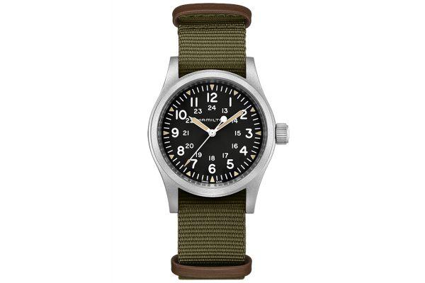 Large image of Hamilton Khaki Field Mechanical Mens Watch - H69439931