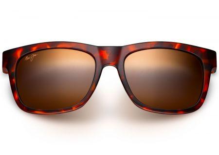 Maui Jim Snapback Matte Tortoise Unisex Sunglasses - H730-10M