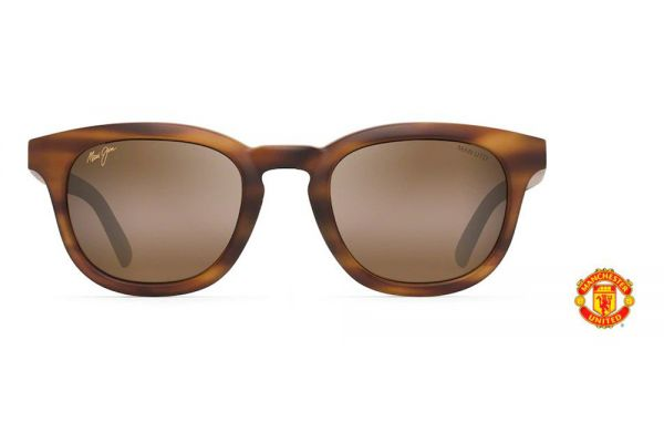 Large image of Maui Jim Koko Head Manchester United Collection Matte Tortoise Sunglasses - H737-10MUTD