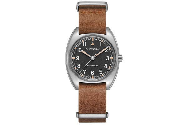Large image of Hamilton Khaki Pilot Pioneer Mechanical Mens Watch - H76419531