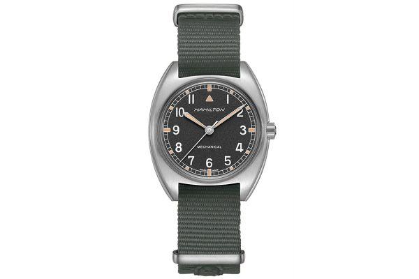 Large image of Hamilton Khaki Pilot Pioneer Mechanical Mens Watch - H76419931