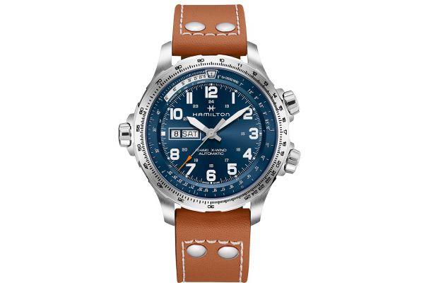 Large image of Hamilton Khaki Aviation X-Wind Day Date Auto Mens Watch - H77765541