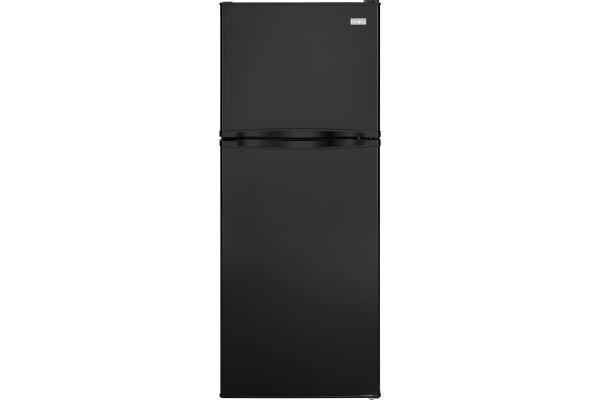 Haier 9.8 Cu. Ft. Black Top Freezer Refrigerator - HA10TG21SB