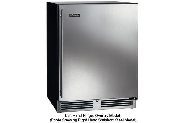 "Large image of Perlick 24"" ADA Series Panel Ready Left-Hinge Beverage Center - HA24BB32L"