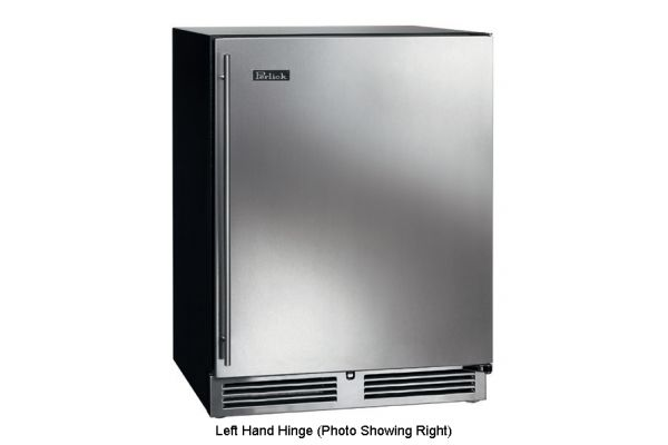 """Perlick 24"""" ADA-Compliant Stainless Steel Refrigerator - HA24RB-3-1L"""