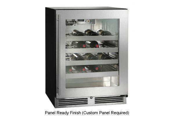 "Perlick ADA Compliant Series 24"" Panel Ready Indoor Wine Reserve - HA24WB-3-4R"