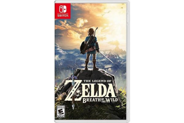 Nintendo Switch The Legend Of Zelda: Breath Of The Wild Video Game - HACPAAAAA