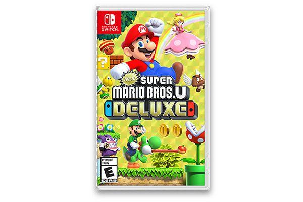 Large image of Nintendo Switch New Super Mario Bros. U Deluxe Video Game - HACPADALA