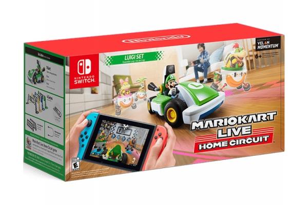 Large image of Nintendo Mario Kart Live: Home Circuit Luigi Set - HACRRMBAA