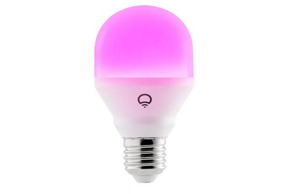 LIFX Mini Color A19 4-Pack LED Smart Light Bulb - HB4L3A19MC08E26