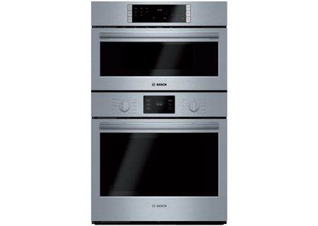 "Bosch 500 Series 30"" Stainless Steel Microwave Combination Oven - HBL57M52UC"