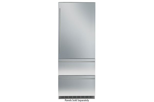 """Large image of Liebherr 30"""" Panel Ready Built-In Bottom Freezer Refrigerator With NoFrost - HC-1540"""
