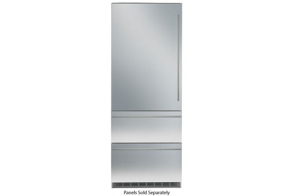 """Large image of Liebherr 30"""" Panel Ready Built-In Bottom Freezer Refrigerator With NoFrost - HC-1541"""