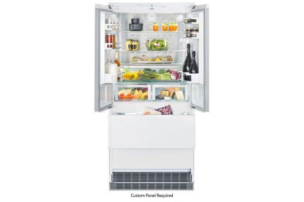 "Large image of Liebherr 36"" Panel Ready Built-In Fridge-Freezer With NoFrost - HC-2082"