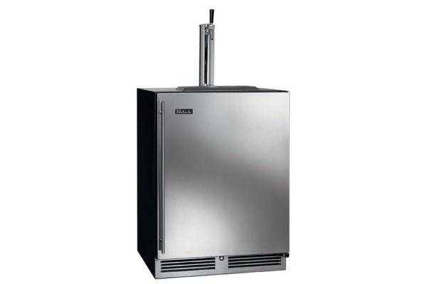 "Perlick 24"" Stainless Steel C-Series Right Hinge Indoor Beer Dispenser - HC24TB-3-1R1"