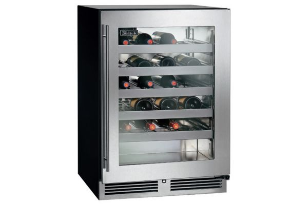 "Perlick C- Series 24"" Glass Door Right Hinged Indoor Wine Reserve - HC24WB-3-3R"