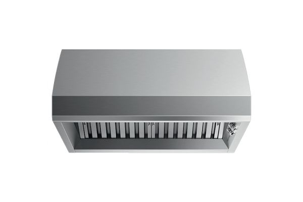 """Large image of Fisher & Paykel 36"""" Stainless Steel Wall Range Hood - HCB3612N"""