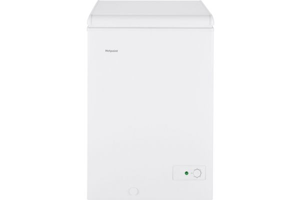 GE Hotpoint 3.6 Cu. Ft. White Chest Freezer - HCM4SMWW