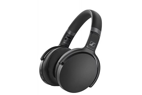 Large image of Sennheiser HD 450BT Black Over-Ear Wireless Headphones - 508386
