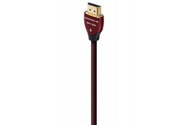 Large image of AudioQuest 3 Meters (9.8 Feet) Cinnamon 48 HDMI Cable - HDM48CIN300PVC