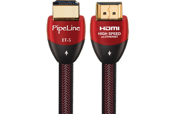 Large image of AudioQuest PipeLine 8 Feet ET-5 SCC HDMI Cable - HDMIPIPELINEET58FT