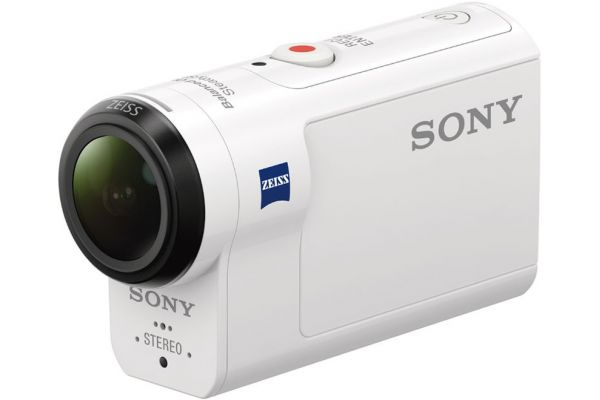 Sony White Full HD Action Camera - HDR-AS300