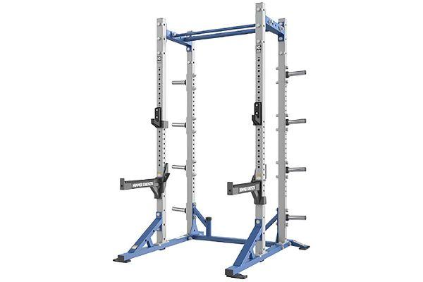 Large image of Life Fitness Hammer Strength HD Athletic Half Rack - HDT-HR