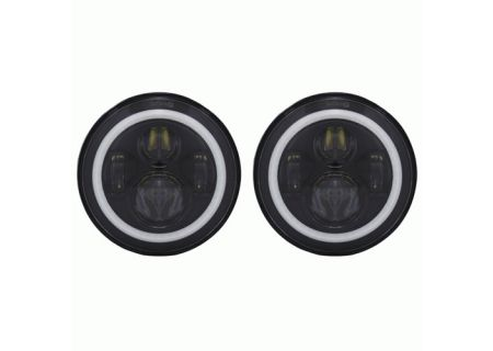 Metra Jeep 7 Inch Round 6 LED With RGB Halo - HE-PBHL702RGB