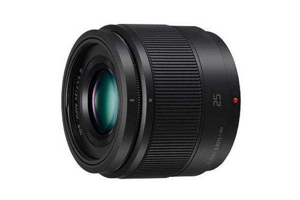 Panasonic LUMIX G 25mm Lens - H-H025K
