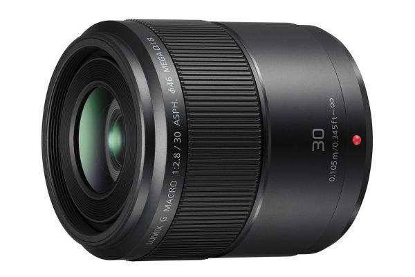 Large image of Panasonic LUMIX G 30mm Macro Lens - H-HS030