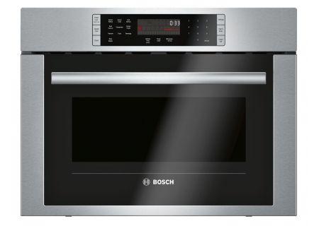 """Bosch 24"""" 500 Series Stainless Steel Drop Down Door Microwave - HMC54151UC"""