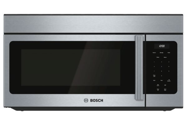 """Large image of Bosch 30"""" 300 Series Stainless Steel Over-The-Range Microwave - HMV3053U"""