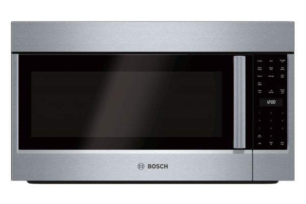"""Large image of Bosch 30"""" 500 Series Stainless Steel Over-The-Range Microwave - HMV5053U"""