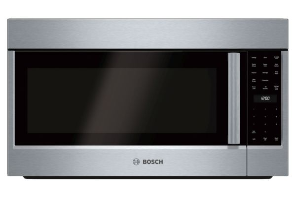 """Large image of Bosch 30"""" 800 Series Stainless Steel Over-The-Range Convection Microwave - HMV8053U"""