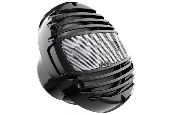"""Large image of Hertz 6.5"""" Black Marine Coaxial Speakers - HMX6.5C"""