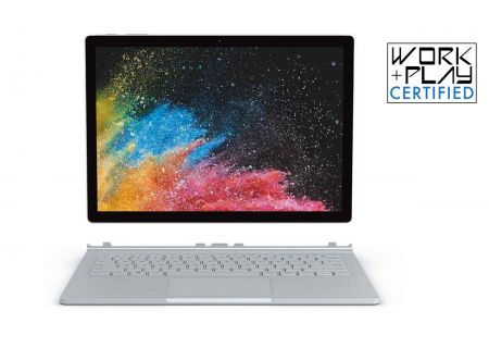 "Microsoft Surface Book 2 13.5"" Silver 512GB i7 Laptop Computer - HNL-00001"