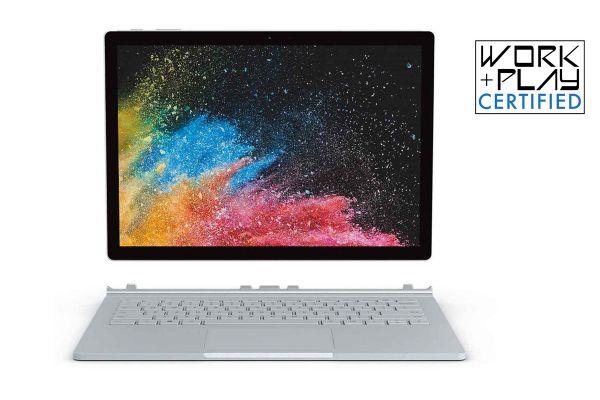 "Microsoft Surface Book 2 13.5"" Silver 1TB i7 Laptop Computer - HNN-00001"