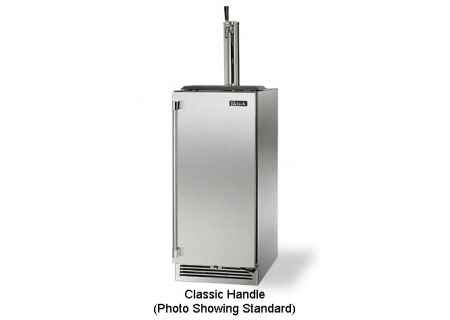 "Perlick 15"" Stainless Steel Signature Series Outdoor Beer Dispenser - HP15TO-3-1RC"