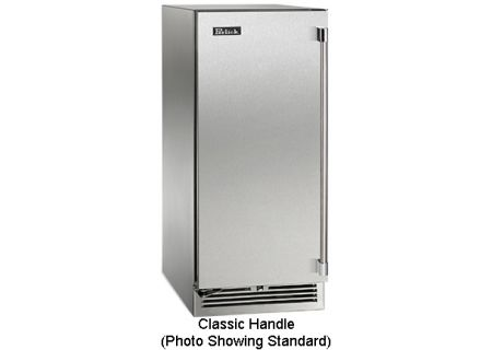 "Perlick 15"" Stainless Steel Signature Series Outdoor Wine Refrigerator - HP15WO-3-1LC"