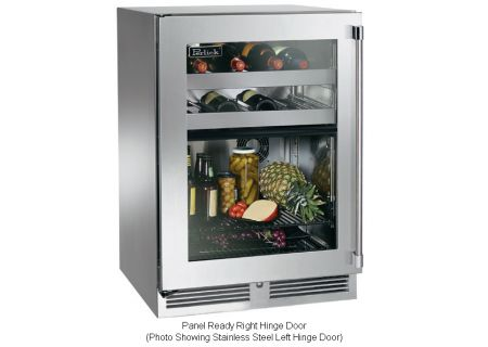 Perlick - HP24CS-3-4R - Wine Refrigerators and Beverage Centers