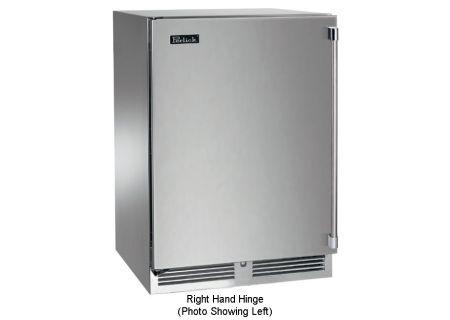 "Perlick Signature Series 24"" Stainless Steel Indoor Freezer - HP24FS-3-1R"