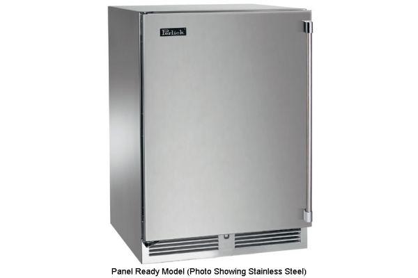 "Perlick 24"" Overlay Signature Series Indoor Refrigerator - HP24RS-3-2L"